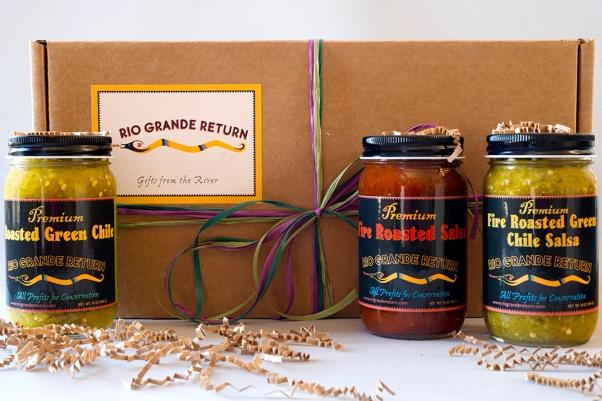 3 salsas and gift box