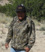 Peter Pino, surveys the progress in a Rio Grande Return hat.